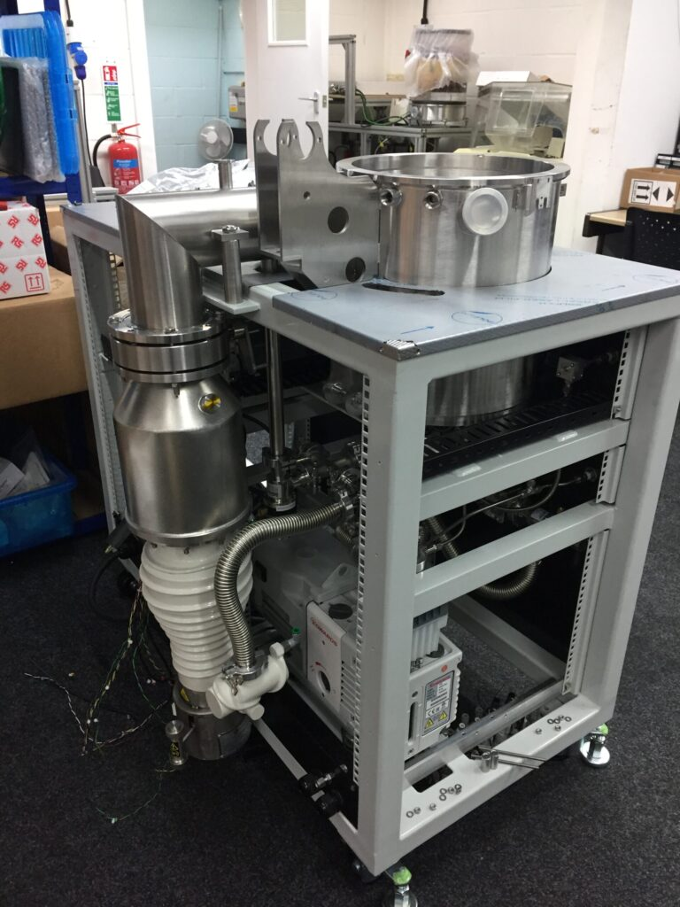 Öldiffusions-Vakuumpumpe
