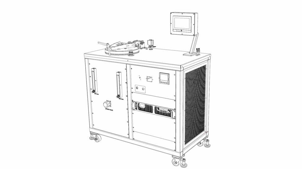 Horno de vacío de laboratorio de alta temperatura